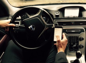 telefoneren in auto