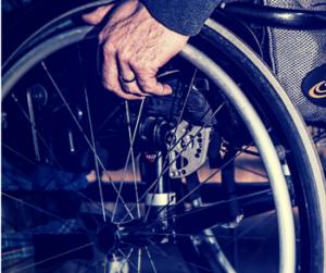 ongeval rolstoel
